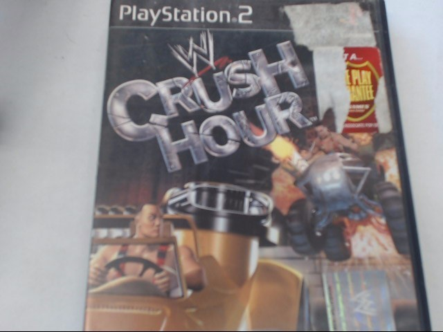 SONY PS2 WWE CRUSH HOUR