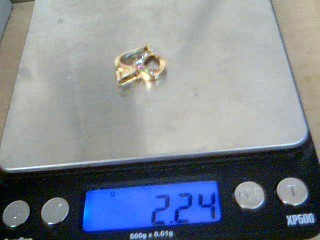 Gold-Misc. Yellow Gold Electroplate 2.2g