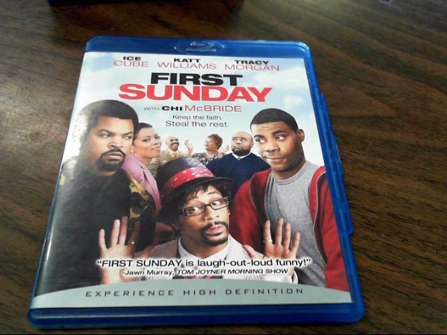 BLU-RAY MOVIE Blu-Ray FIRST SUNDAY
