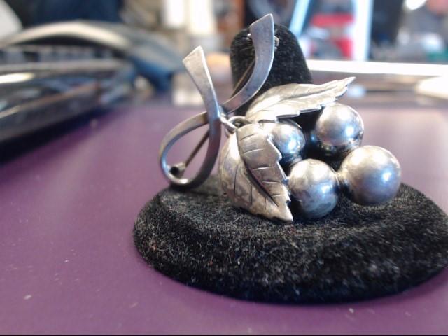 Silver Brooch 925 Silver 6.1g
