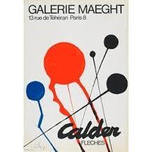 CALDER Poster GALERIE MAEGHT