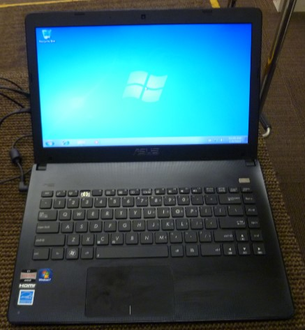 ASUS LAPTOP X401U, 1.4 GHZ, 4GB RAM, 500GB HD, WINDOWS 10