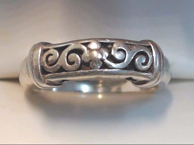 Lady's Silver Ring 925 Silver 4.5g Size:9