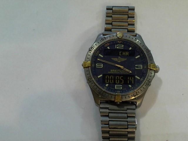BREITLING Gent's Wristwatch F65062