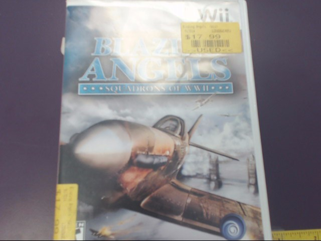 BLAZING ANGELS SQUADRONS OF WWII (Wii)