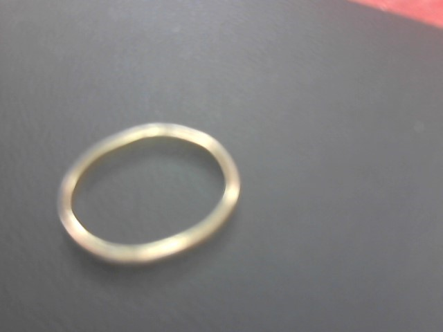 Lady's Gold Ring 10K Yellow Gold 0.8g Size:6.8