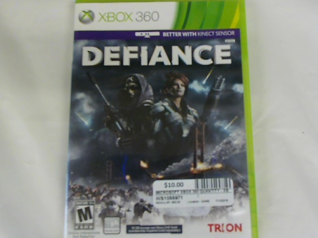 DEFIANCE-XBOX 360 GAME