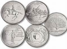 5 STATE QUARTERS 1999
