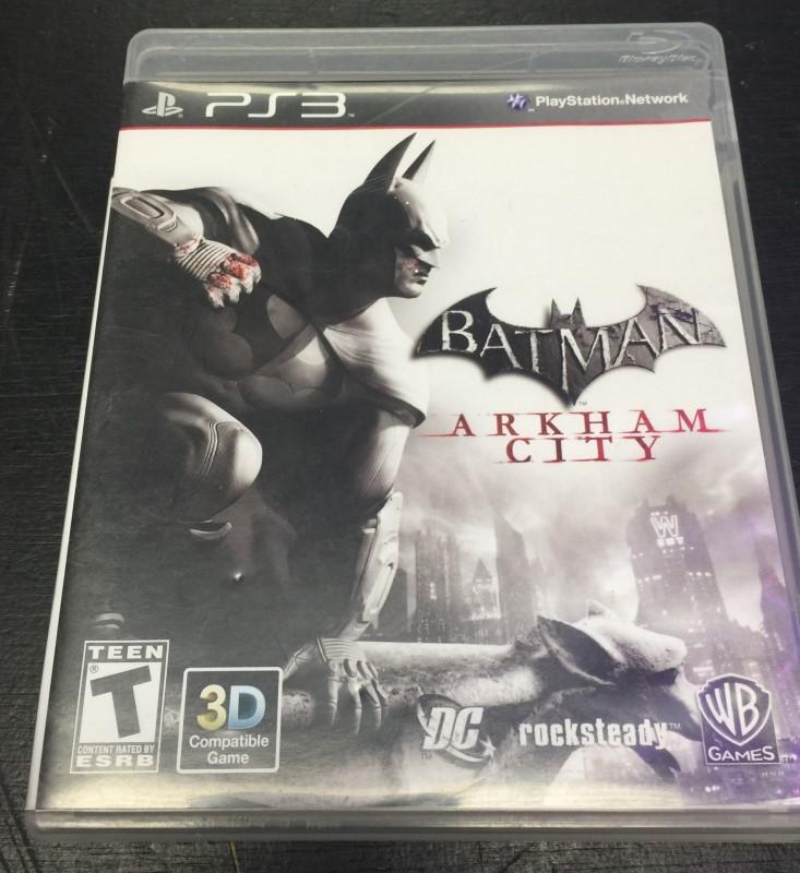 SONY PlayStation 3  BATMAN ARKHAM CITY