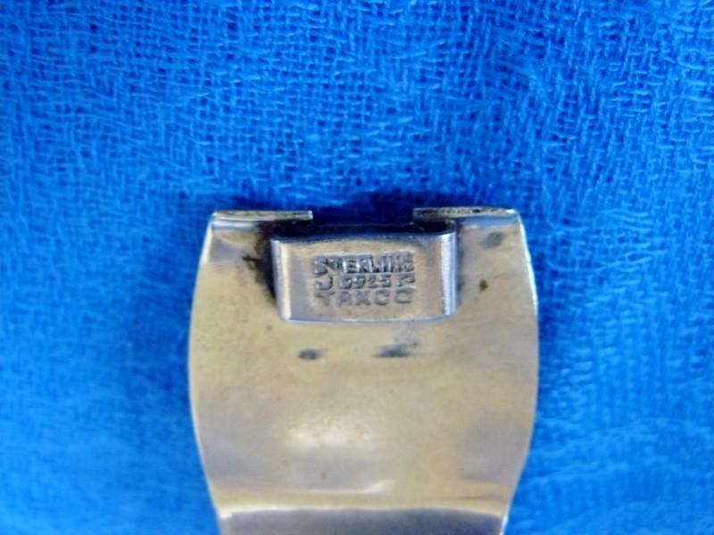 Aztec Mask Taxco Mexico Hecho JPR Pannel Bracelet 925 Silver 41.77dwt