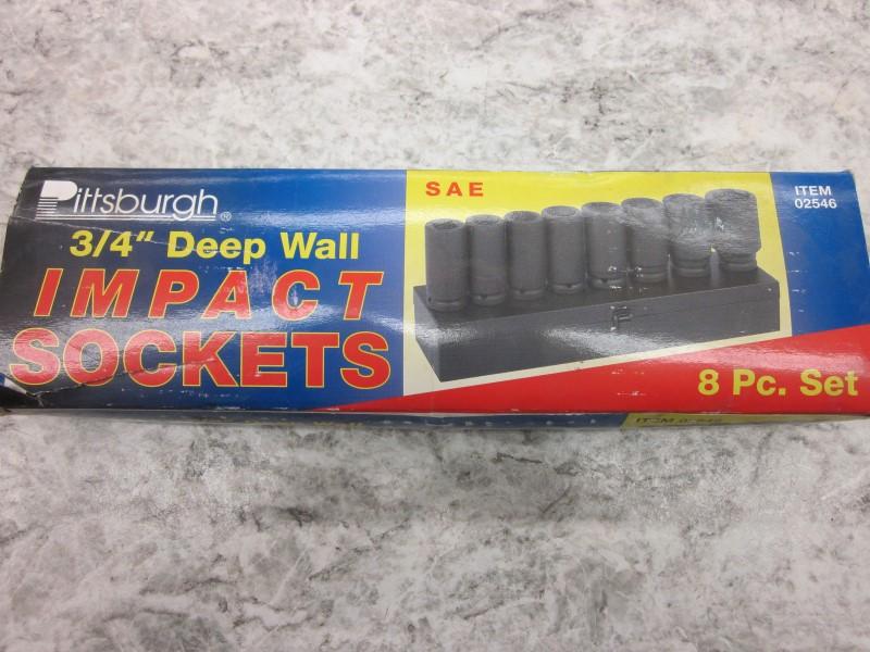 "PITTSBURGH 3/4"" DEEP IMPACT SAE"