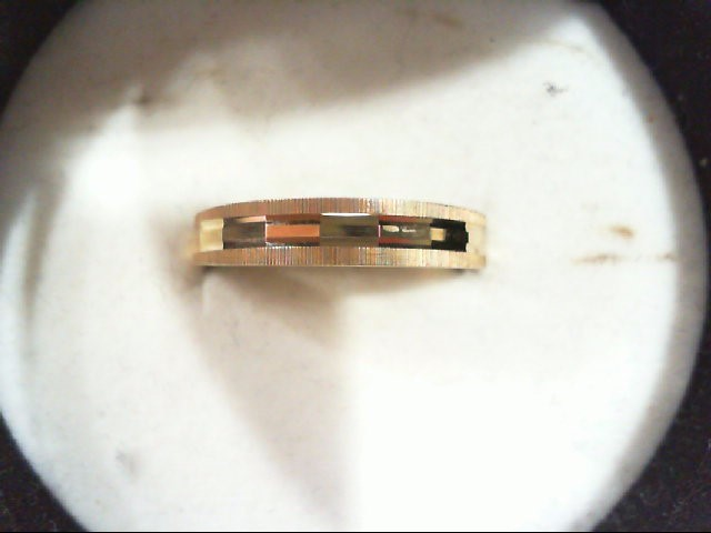Lady's Gold Wedding Band 14K Yellow Gold 1.2g