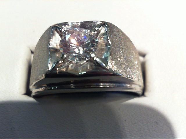 Gent's Diamond Fashion Ring .75 CT. 14K White Gold 10.32g