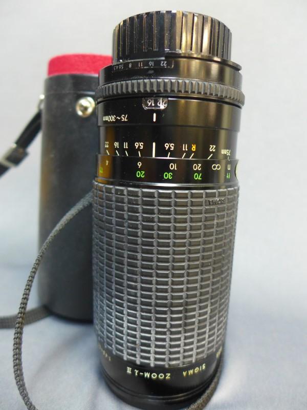 SIGMA Lens/Filter 75-300MM F/4-5.6 DL