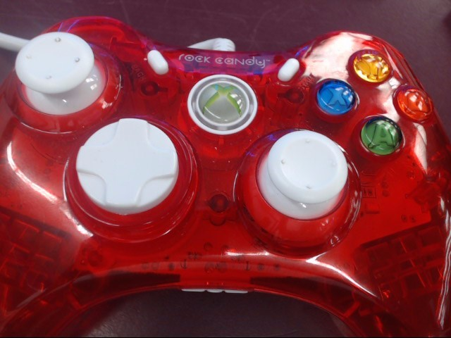 ROCK CANDY WIRED XBOX 360 CONTROLLER