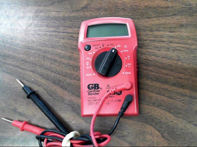 GARNDER BENDER Multimeter GDT-311