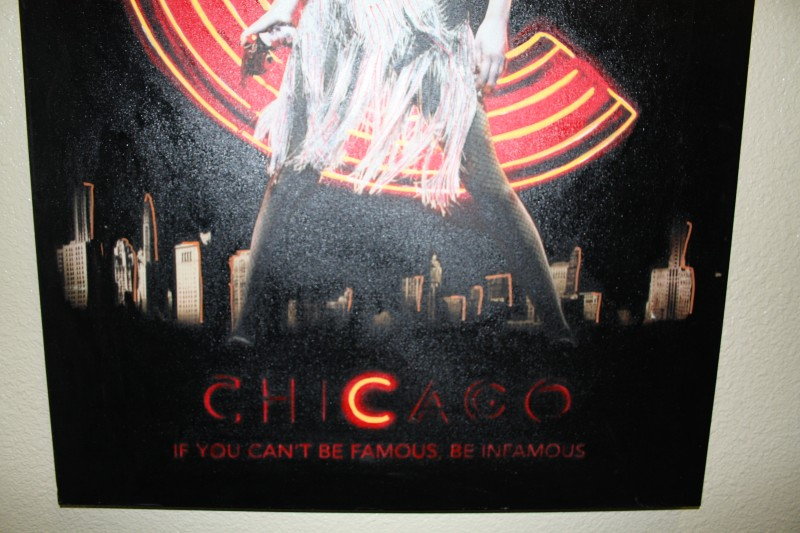 "STEVE KAUFMAN' ""CHICAGO"" CZJ'S CATHERINE ZETA-JONES LIMITED EDITION ARTIST SIGN"