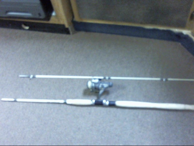 "ST CROIX 3102 6'6"" ROD Fishing Pole WITH DAIWA AG1350 REEL"