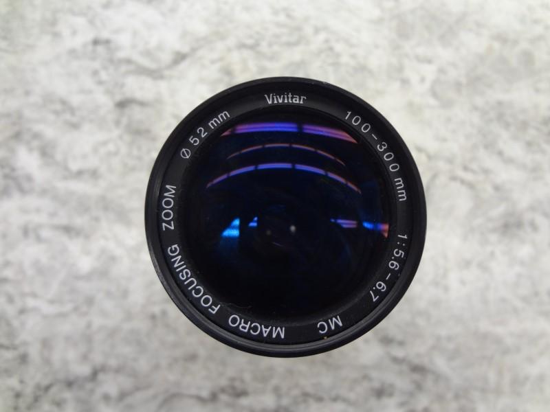 VIVITAR 100-300 MM MACRO LENS