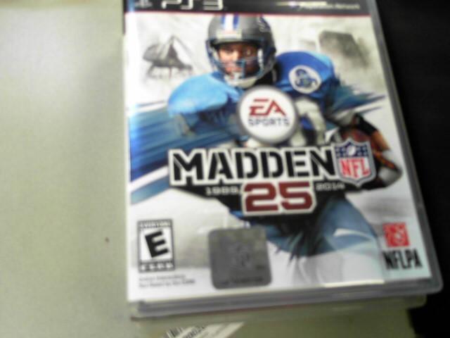 SONY Sony PlayStation 3 PS3 MADDEN 25
