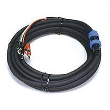PEAVEY Cable 25FT 16GA 4-CONDUC SPEAKON TO DUAL BANNANA
