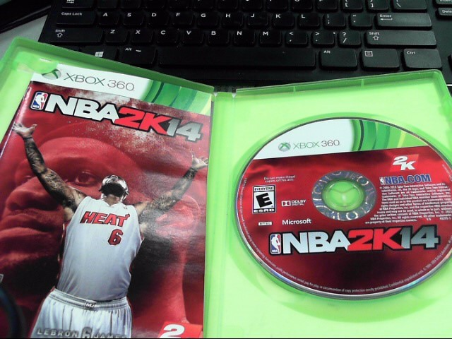 MICROSOFT Microsoft XBOX 360 NBA 2K14