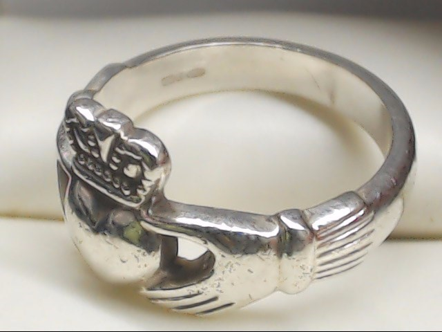 Lady's Silver Ring 925 Silver 3.7g Size:5