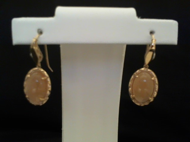 Gold Earrings 18K Rose Gold 4g