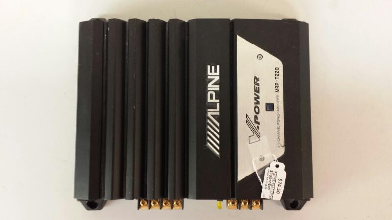 Alpine Electronics Car Amplifier MRP-T220
