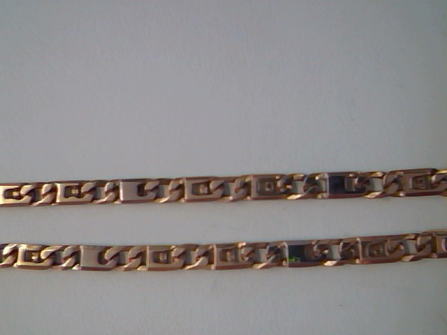 LINK NECKLACE JEWELRY , 14KT, 21