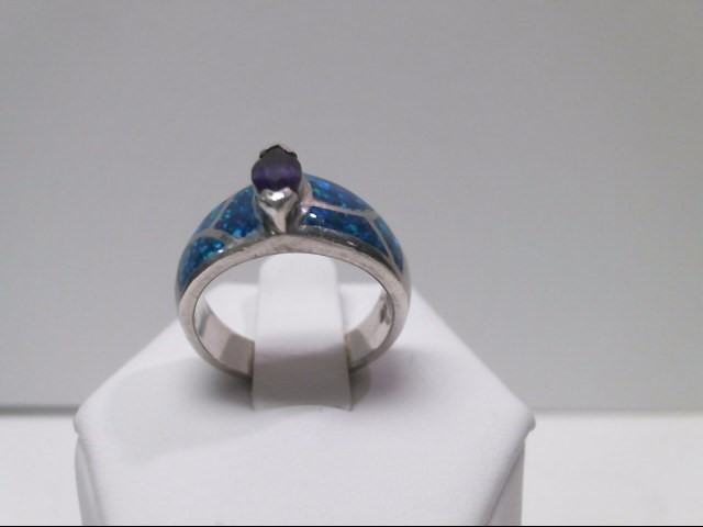 Lady's Silver Ring 925 Silver 3.5dwt Size:6