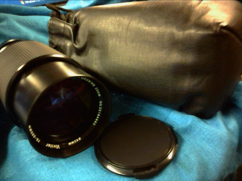 VIVITAR Lens/Filter 75-205MM MACRO-FOCUS ONE-TOUCH MC