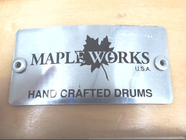 """Maples Works 14 x 4-1/2"""" Snare Drum"""