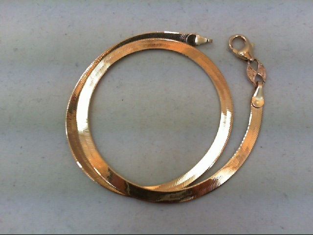 Gold Bracelet 14K Yellow Gold 2.6g