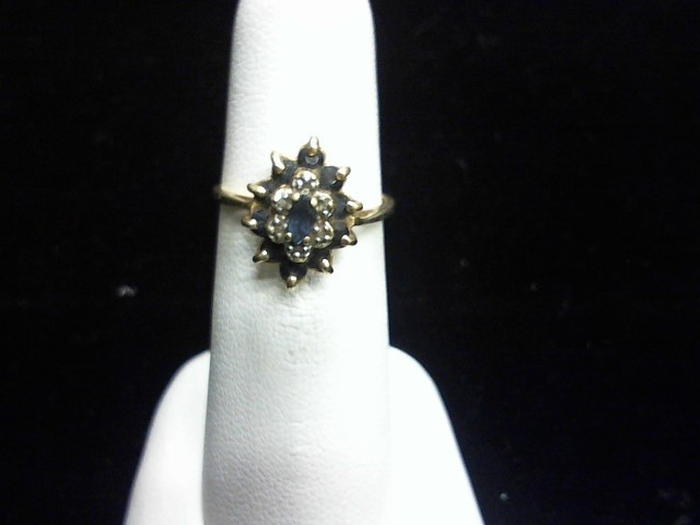 Lady's Gold Ring 10K Yellow Gold 2dwt