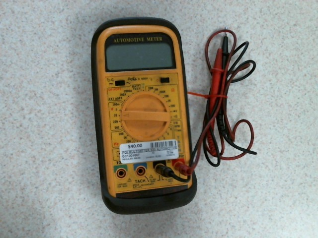 PDI Multimeter 920 AUTOMOTIVE METER