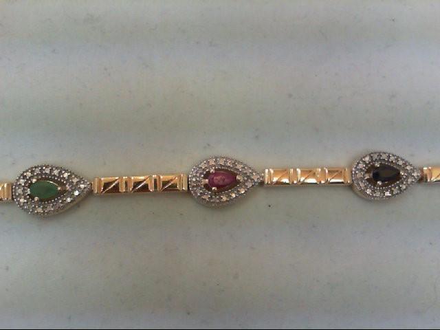 Silver Bracelet 925 Silver 14.5g