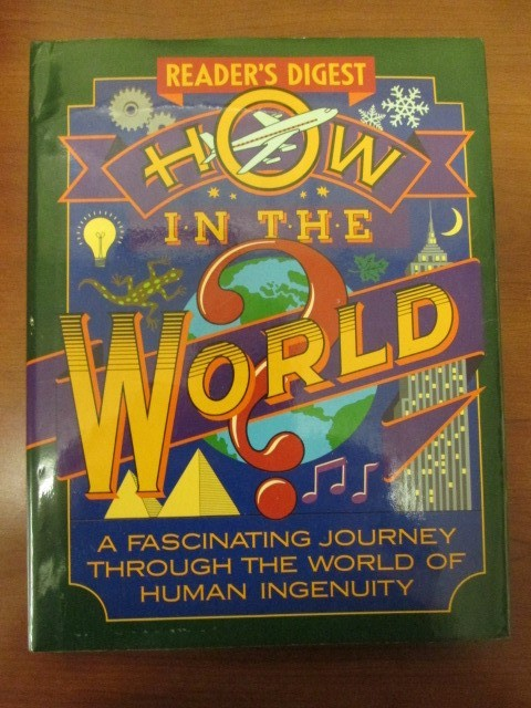 READERS DIGEST HOT IN THE WORLD HARDCOVER BOOK