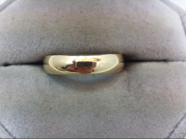 Lady's Gold Wedding Band 14K Yellow Gold 3.9g