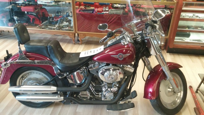 HARLEY-DAVIDSON Motorcycle FATBOY_FLSTFI