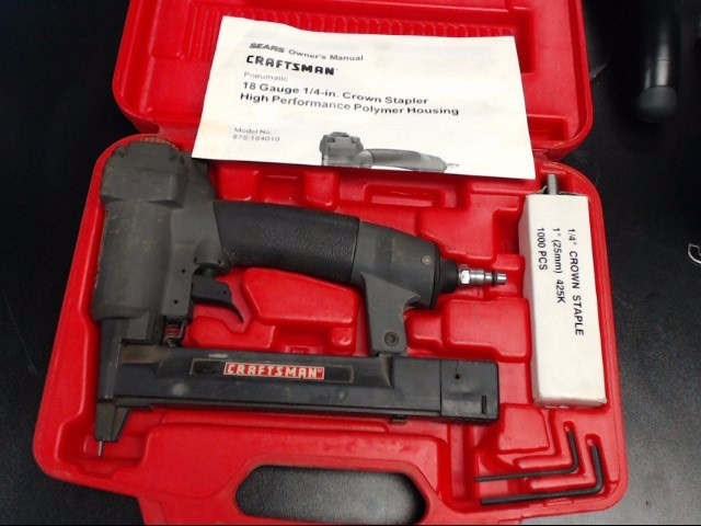 CRAFTSMAN Nailer/Stapler 875.184010