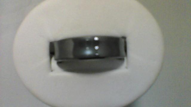 Gent's Ring Silver Tungsten 15.24g