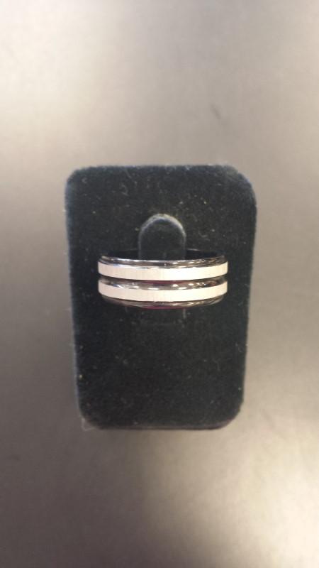 Gent's Ring Black Tungsten 6.3g