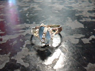 Lady's Gold Ring 10K Yellow Gold 1dwt Size:5.5