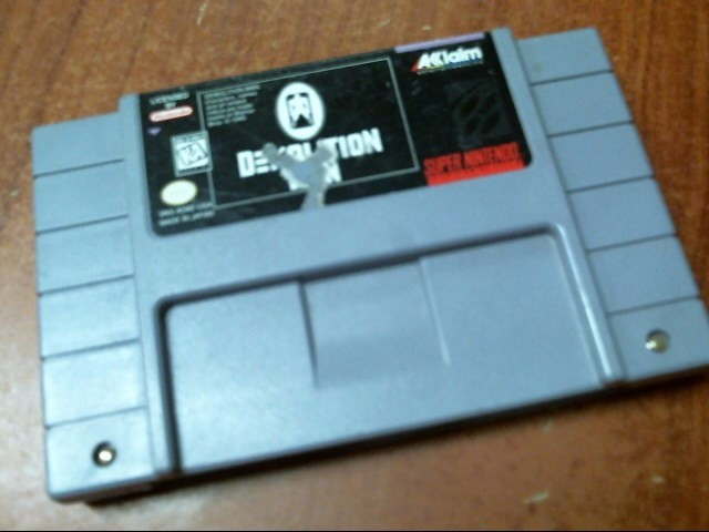 SUPER NINTENDO GAMES Demolition Man