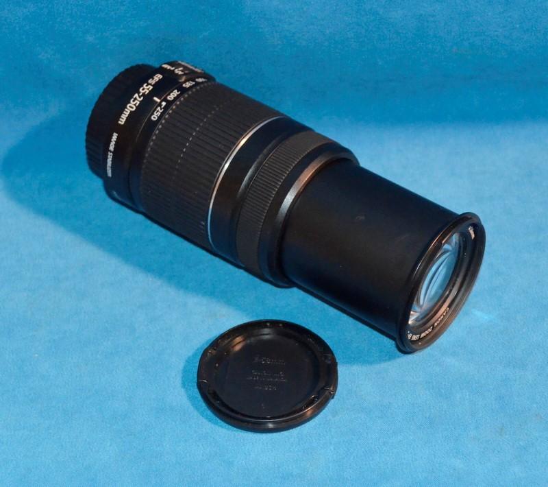 CANON Lens/Filter EFS55-250MM IMAGE STABILIZER