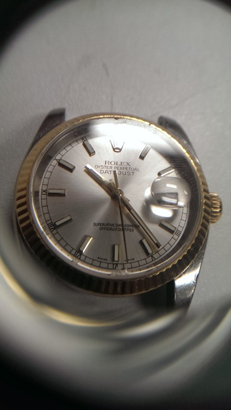 ROLEX 116233 STAINLESS STEEL & 18KT GOLD OYSTER PERPETUAL
