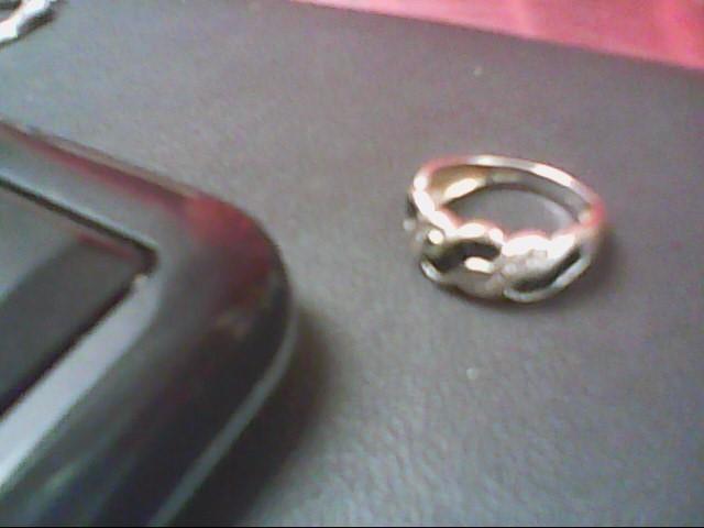Sapphire Lady's Stone & Diamond Ring 12 Diamonds .24 Carat T.W. 14K White Gold