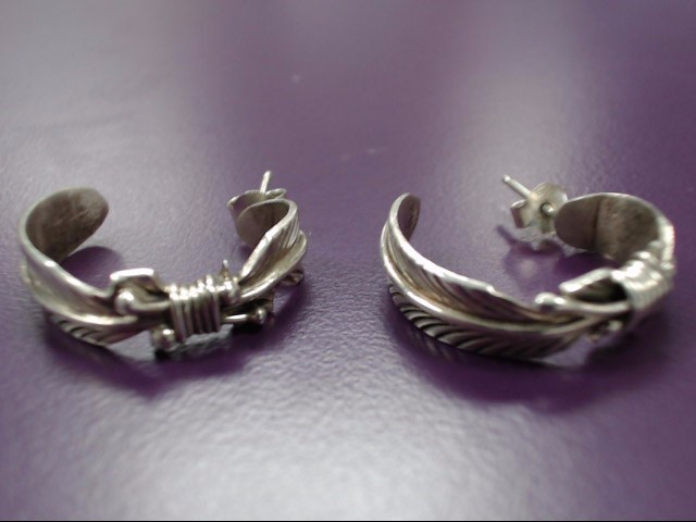 Silver Earrings 925 Silver 5.5g