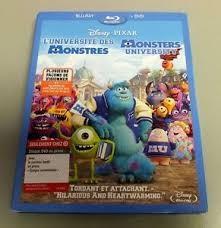 DISNEY Blu-Ray MONSTERS UNIVERSITY BLU-RAY